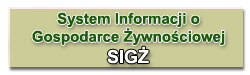 System Informacji o Gospodarce Żywnościowej